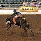 Junior High School Rodeo ~ 1 by Michael McCasland