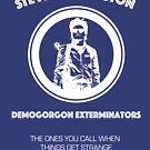 Steve Harrington Demogorgon Exterminators by Smidge the Crab