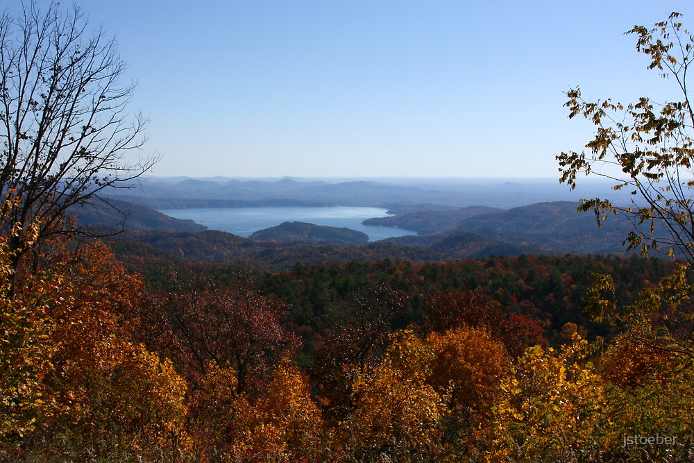 Fall in the Mountains by jstoeber