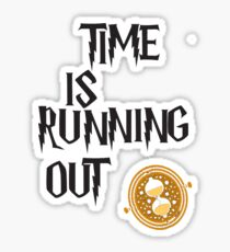 Time is running out Sticker