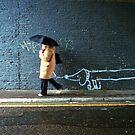 WALKING THE DOG by Ingrid Rasmussen
