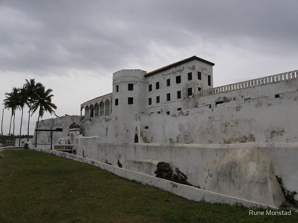 Slave Castle Ghana by Rune Monstad