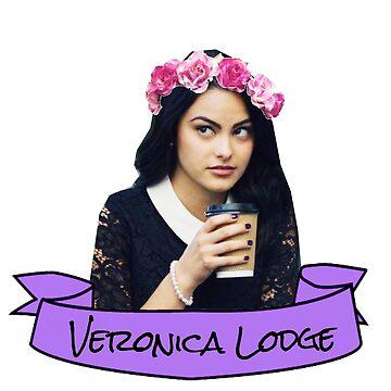 veronica flower crown sticker by lunalovebad