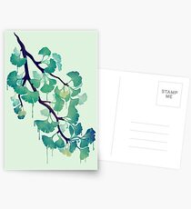 O Ginkgo (in Green) Postcards