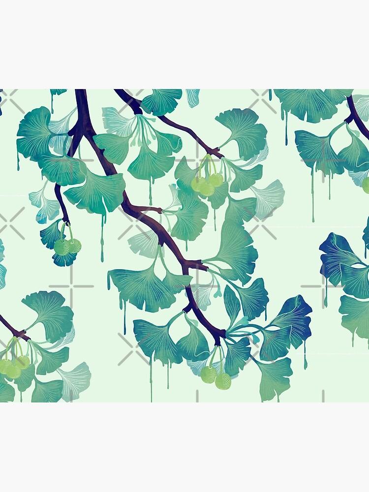 O Ginkgo (in Green) by littleclyde