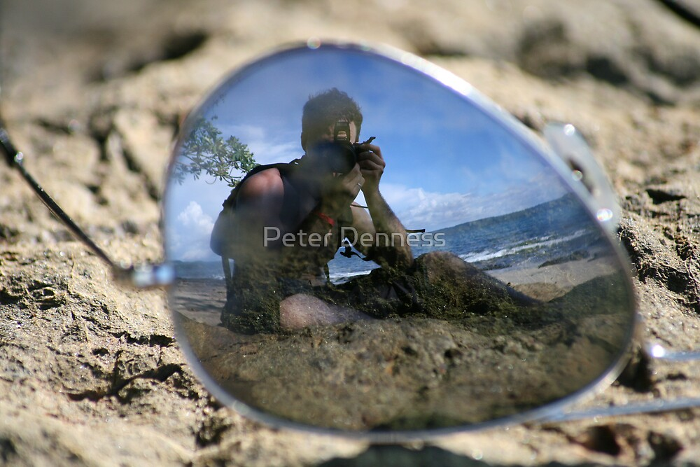 Self Portrait  by Peter Denness