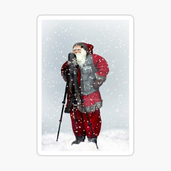 Smile Rudolph Sticker