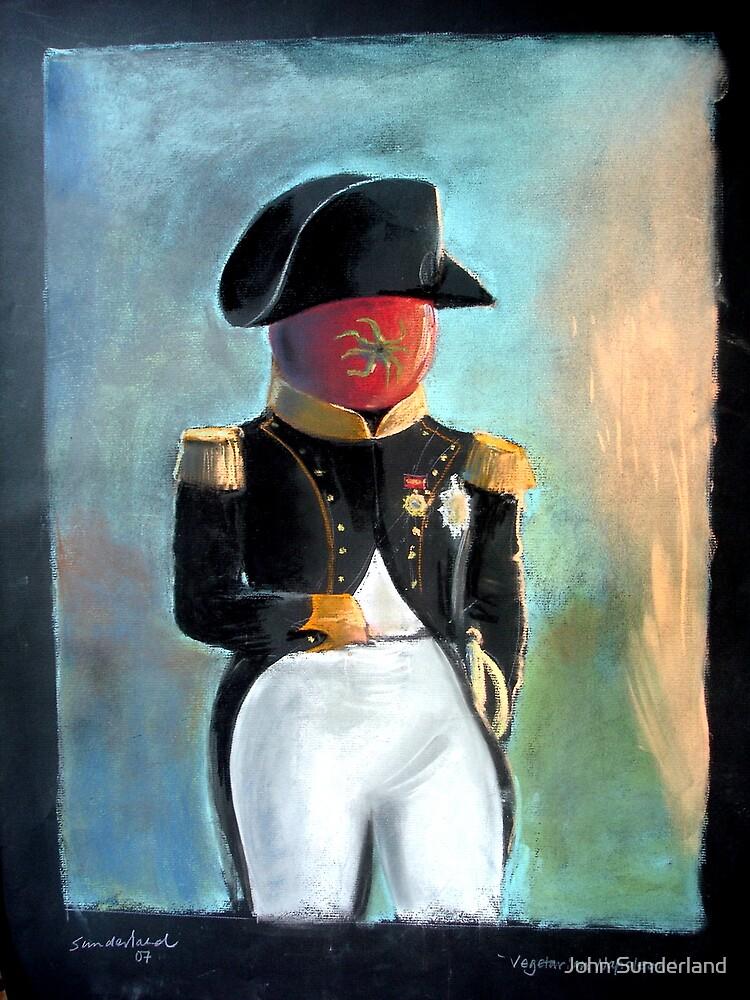 Veggie Napoleon by John Sunderland