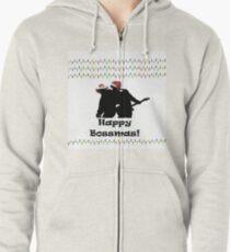 Christmas is here! Zipped Hoodie