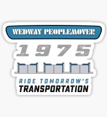 WEDWAY People Mover Sticker