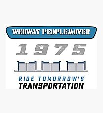 WEDWAY People Mover Fotodruck
