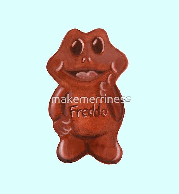 Freddo Frog by makemerriness