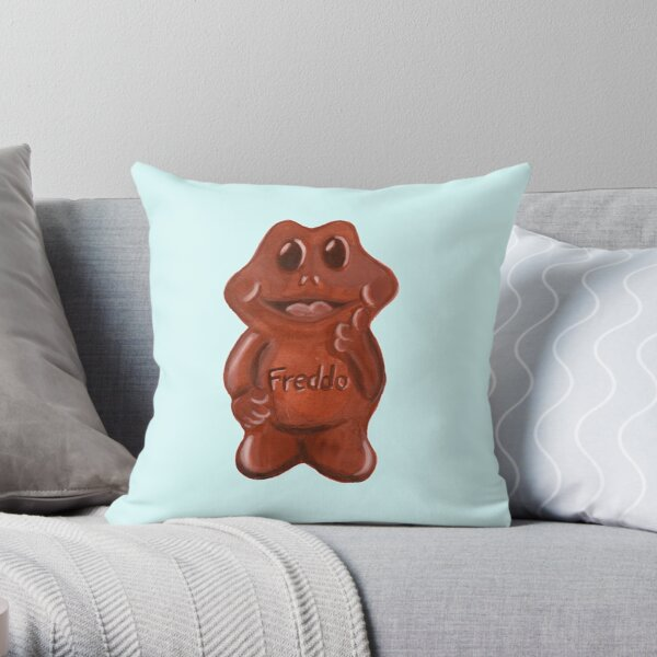 Freddo Frog Throw Pillow