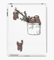 Taschen-Faultier-Familie iPad-Hülle & Klebefolie