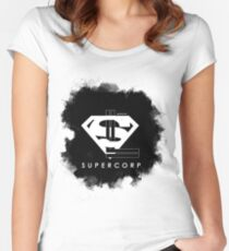SuperCorp Women's Fitted Scoop T-Shirt