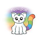 Meowgical Einhorn Katze von Beka Designs