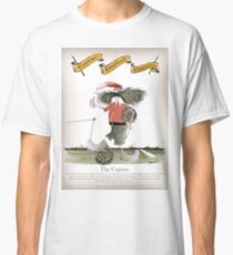 Vintage Football Reds Team Captain Classic T-Shirt