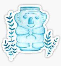 Koala Jar Sticker