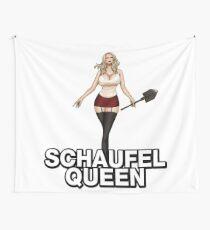 Schaufel Queen  Wall Tapestry