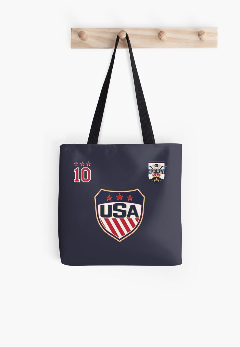 585de58d7 USA National Ice Hockey Jersey Uniform number 10