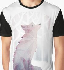 Fox in the Snow Graphic T-Shirt