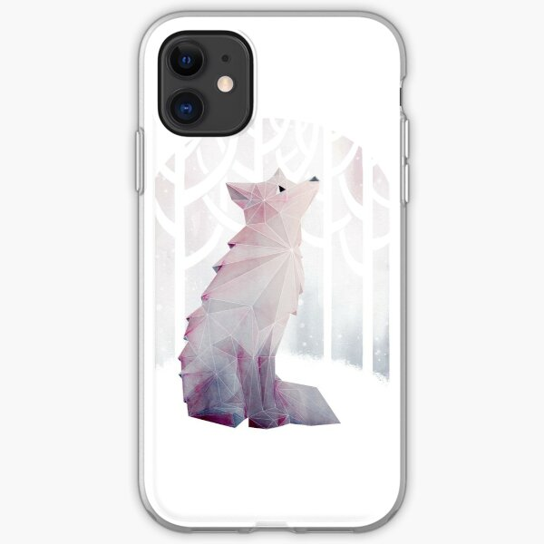 Fox in the Snow iPhone Soft Case