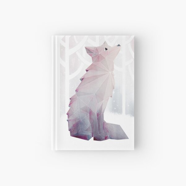 Fox in the Snow Hardcover Journal