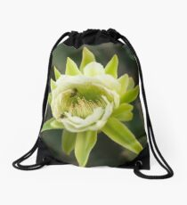 Princess of the Night - Bloom with Playful Bees Drawstring Bag