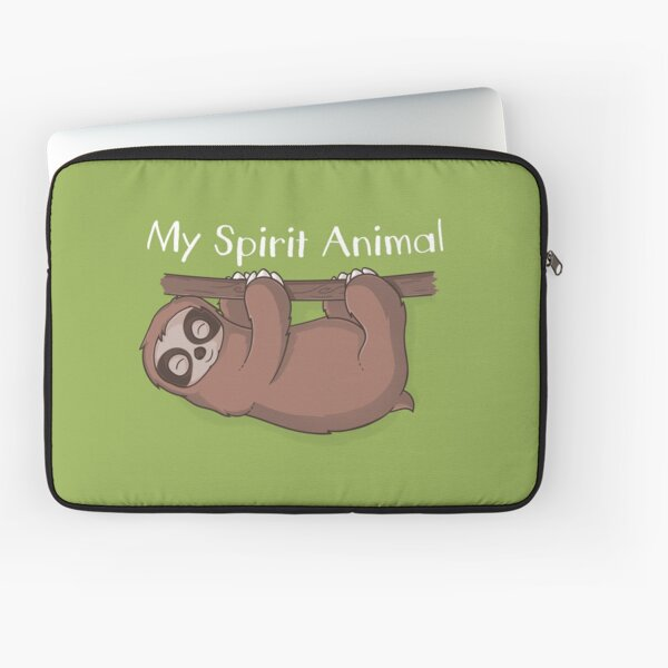 Sloth is My Spirit Animal Laptop Sleeve