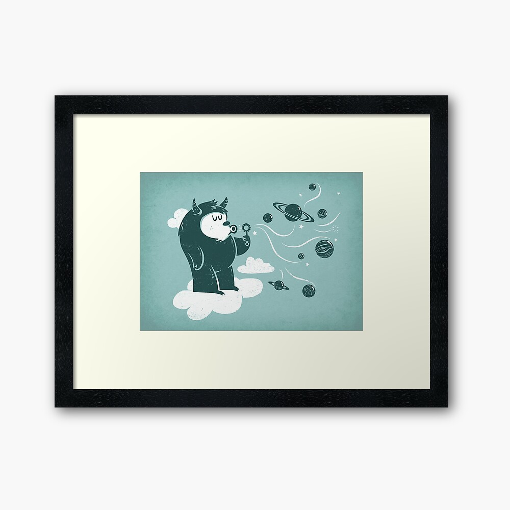 Universal Fun Framed Art Print