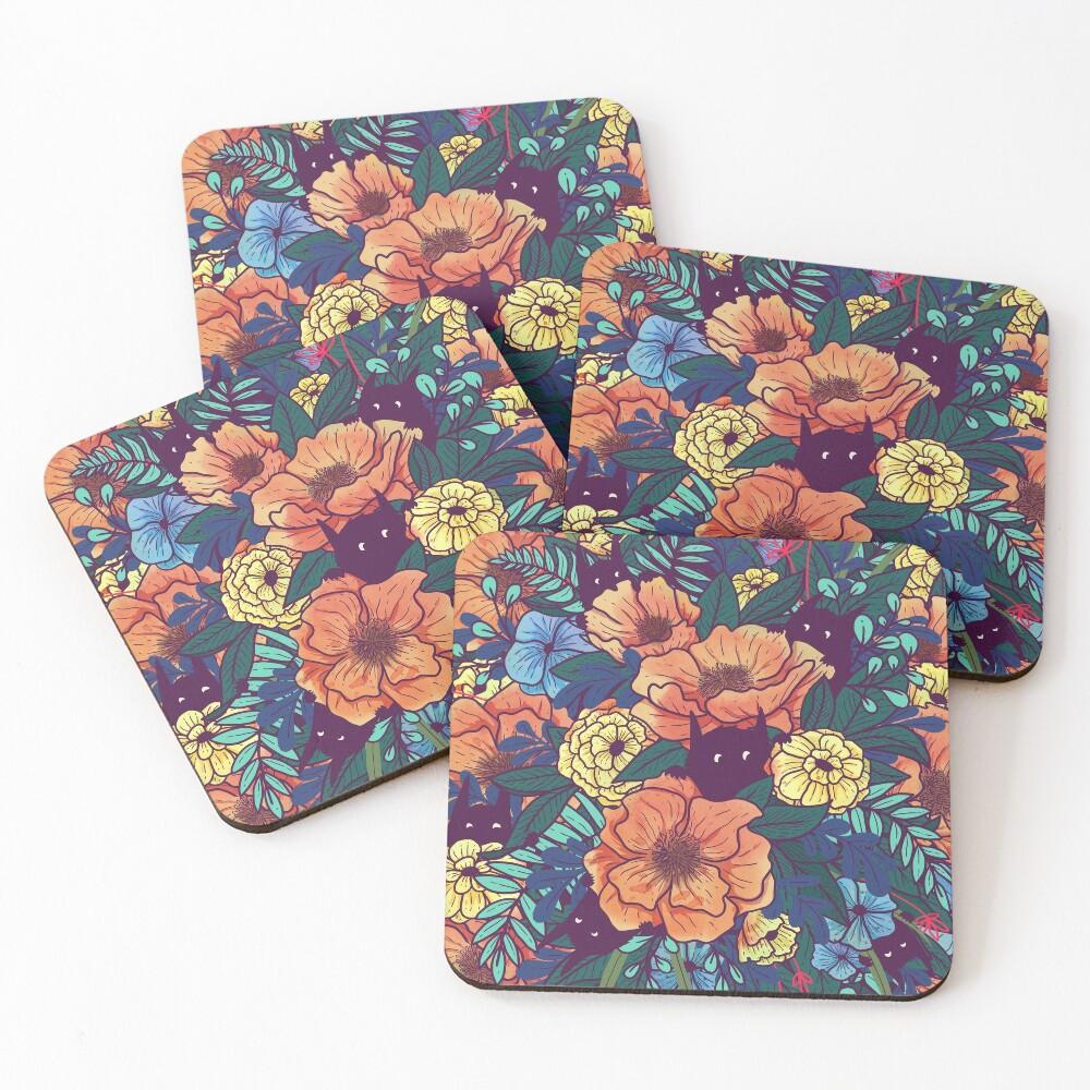 Wild Flowers Coasters (Set of 4)