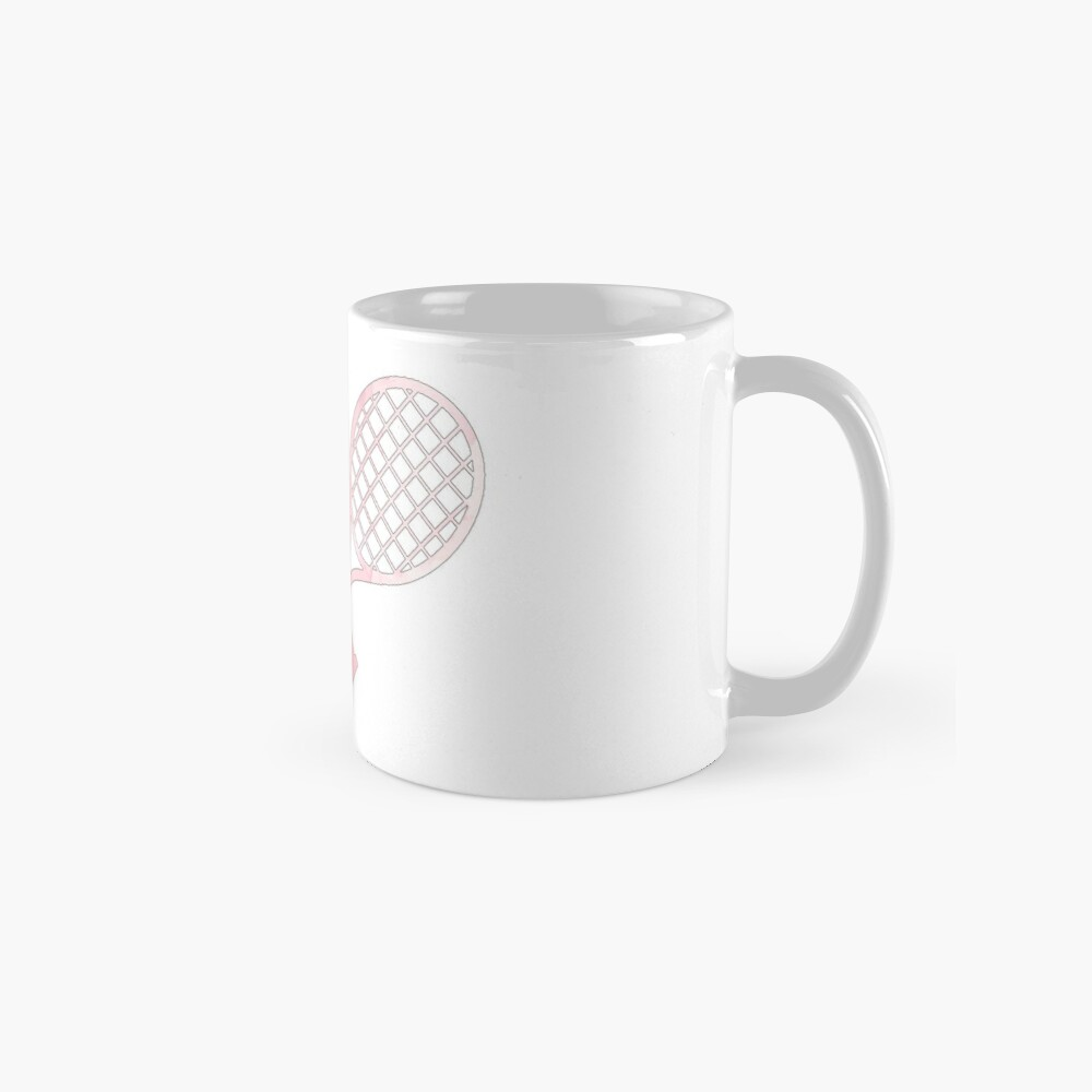 Tennisschläger Pink Tasse (Standard)