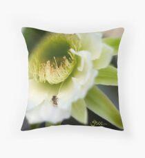Princess of the Night - Bloom Close Up  Throw Pillow