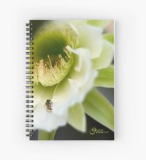Princess of the Night - Bloom Close Up  Spiral Notebook