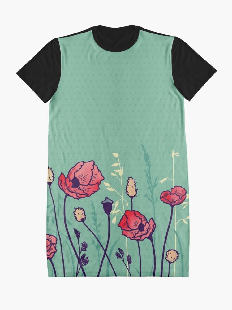 Alternate view of Summer Field Graphic T-Shirt Dress