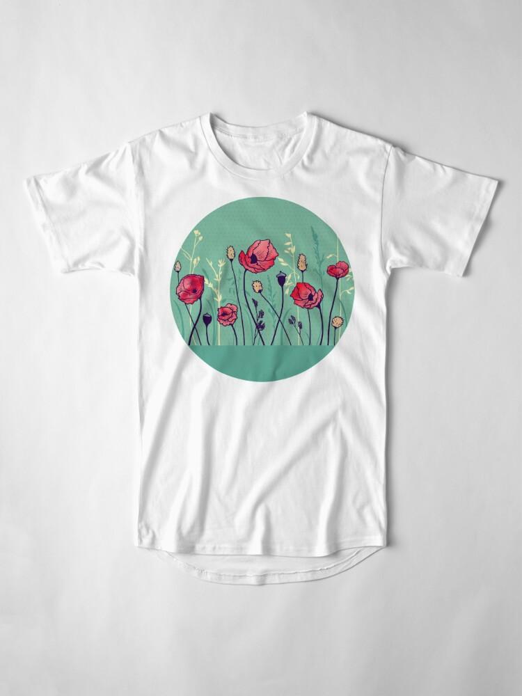 Alternate view of Summer Field Long T-Shirt