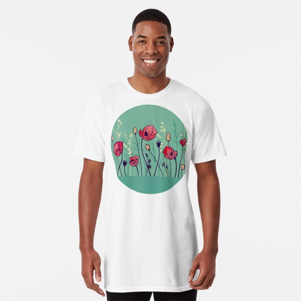 Summer Field Long T-Shirt