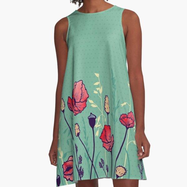 Summer Field A-Line Dress