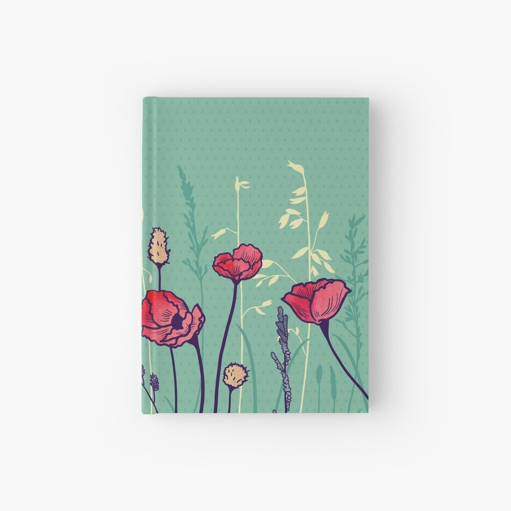 Summer Field Hardcover Journal