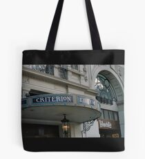 Criterion Tote Bag