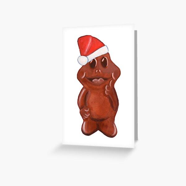 Freddo-Ho-Ho Greeting Card