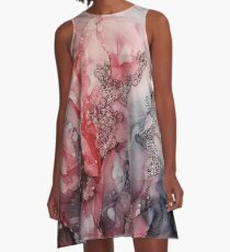 From the Core, Abstract Painting A-Line Dress