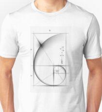 Golden Ratio - Large Slim Fit T-Shirt