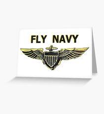 Naval Aviator Wings Greeting Card