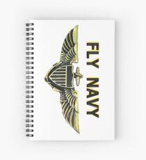Naval Aviator Wings Spiral Notebook