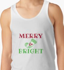 Merry and Bright Men's Tank Top