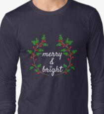 Merry & Bright Xmas Long Sleeve T-Shirt