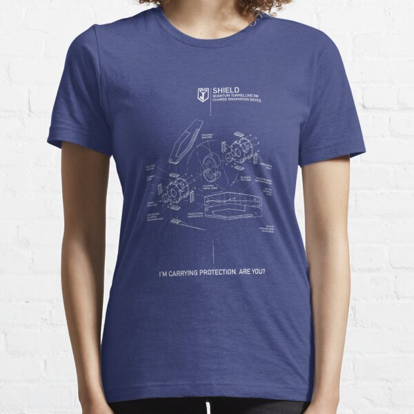 ingress : quantum tunnelling charge dissipation device Essential T-Shirt