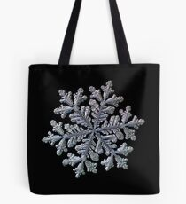 Real snowflake - Hyperion black Tote Bag