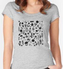 Floral garden Women's Fitted Scoop T-Shirt